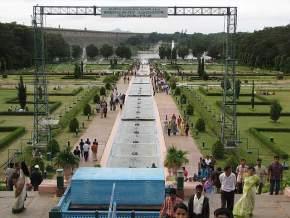 brindavan-gardens, mysore