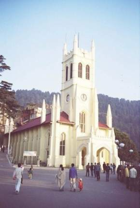 christ-church, mussoorie