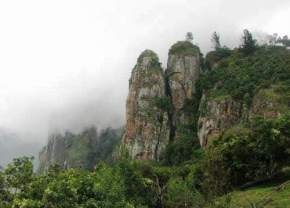 pillar-rocks, kodaikanal