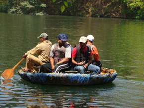 coracle-ride, dandeli