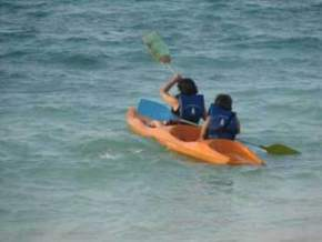 Kayaking, Lakshadweep