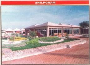shilpgram, khajuraho