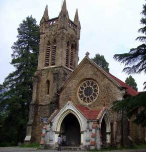 St Johns Church, Nainital