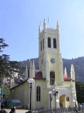 christ-church, shimla