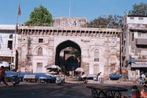 bhadra-fort-and-darwaja, ahmedabad