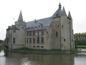 laarne-castle, belgium