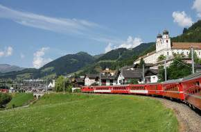 rhaetian-railway-albula-bernina-landscape, switzerland