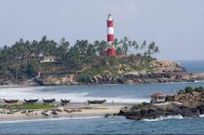 lighthouse-beach, kovalam