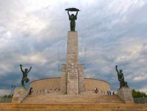 gellert-hill-liberation-monument, hungary