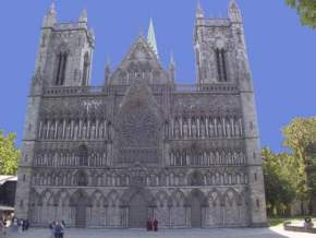 trondheim-cathedral, norway