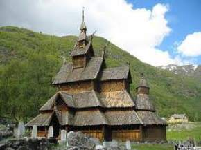 borgund-stave-church, norway