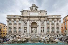 trevi-fountain, italy