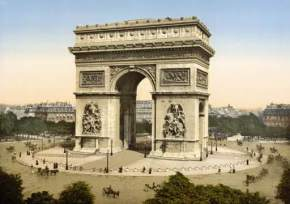 arc-de-triomphe, france