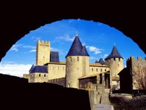 carcassonne-medieval-city, france