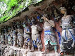 dazu-rock-carvings, china