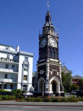victoria-street-clock-tower, new-zealand