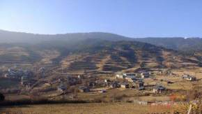 ura-valley, bhutan
