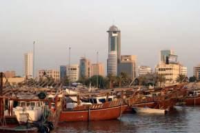 dhow-harbour, kuwait