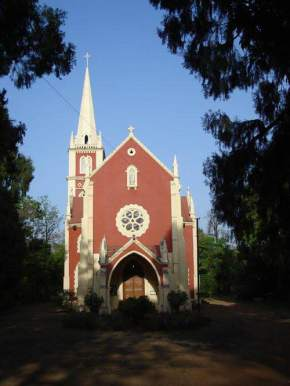 catholic-church, pachmarhi
