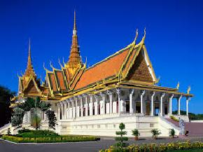 phnom-penh-royal-palace-and-silver-pagoda, cambodia