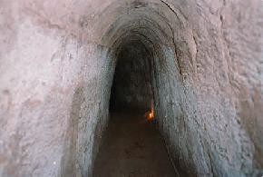 cu-chi-tunnels, vietnam