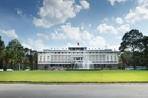 reunification-palace, vietnam