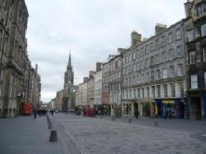 Edinburghs Royal Mile, Scotland