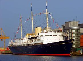 Royal Yacht Britannia, Scotland