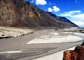 shyok-river, nubra-valley