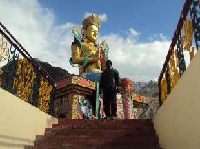 hundur-monastery, nubra-valley