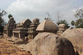 attractions-Five-Rathas-Mahabalipuram