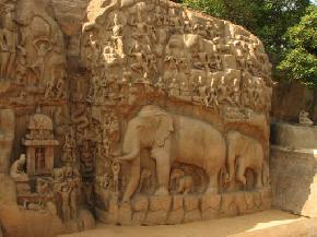 arjunas-penance, mahabalipuram