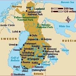 Rovaniemi Finland - Tourist Places to visit in Finland Finland Travel Maps