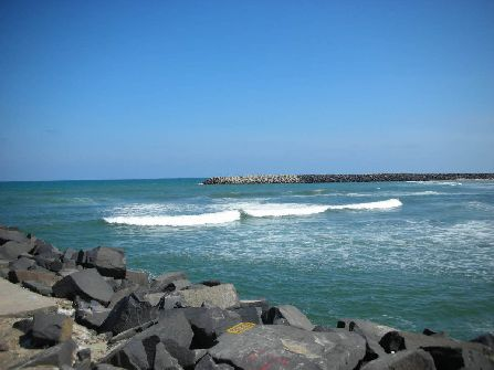 Pondicherry Beach, puducherry sightseeing