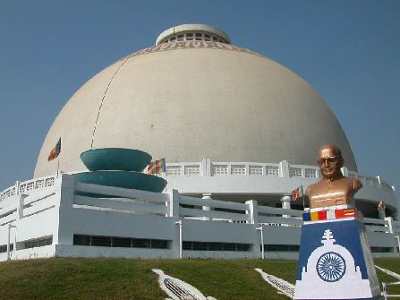 Nagpur Stupa Dome, nagpur sightseeing