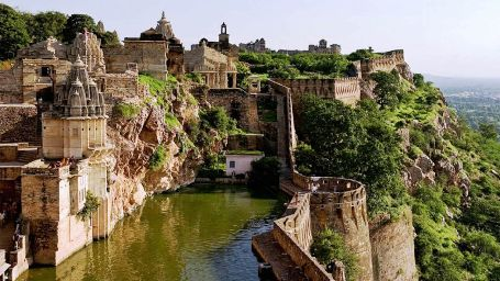 Chittorgarh Fort Pond, 