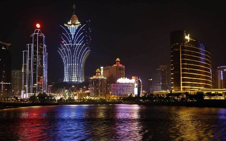 Macau City Night, macau sightseeing