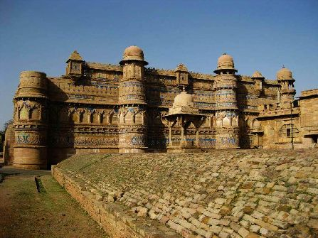 Gwalior Fort View, gwalior sightseeing