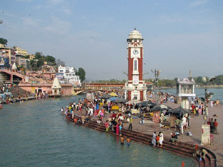 Clock Tower Har Ki Pauri Haridwar, haridwar sightseeing
