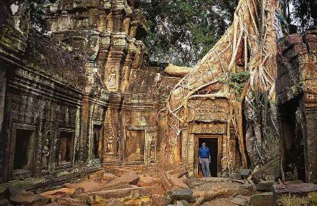Cambodia Temple, 