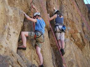 Rock Climbing in gangotri