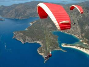 Paragliding in puducherry