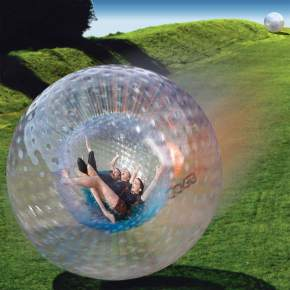 Zorbing in andaman and nicobar islands