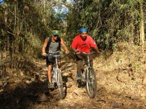 Mountain Biking in corbett national park