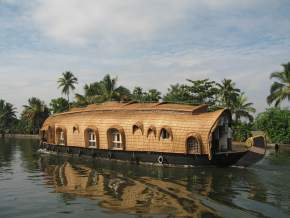 Backwaters in Tamil Nadu