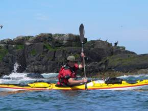 Kayaking in goa