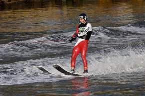 Water Skiing in gulmarg