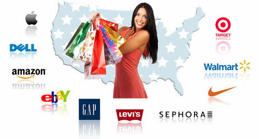 shopping in USA