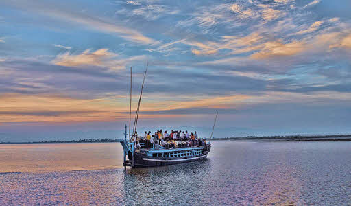 how to travel within Majuli